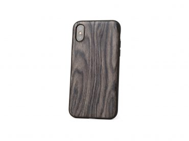 Dark wood iPhone Case by ZUKOU
